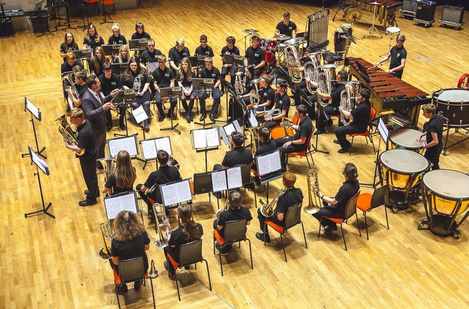 Pembrokeshire Schools' Brass Band