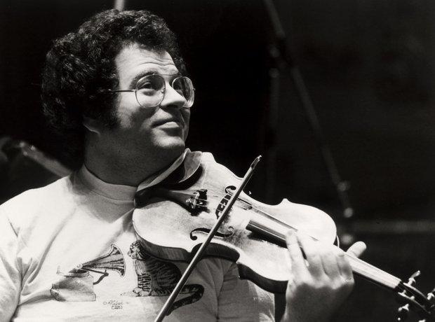 Itzhak Perlman historic photos