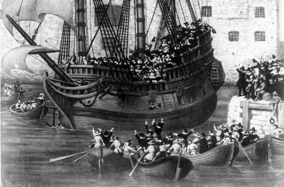 Plymouth Hoe Mayflower