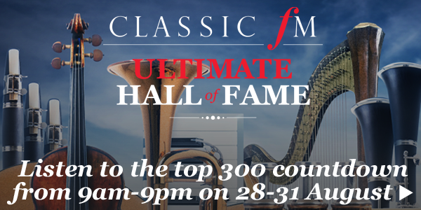 Ultimate Classic FM Hall of Fame listen