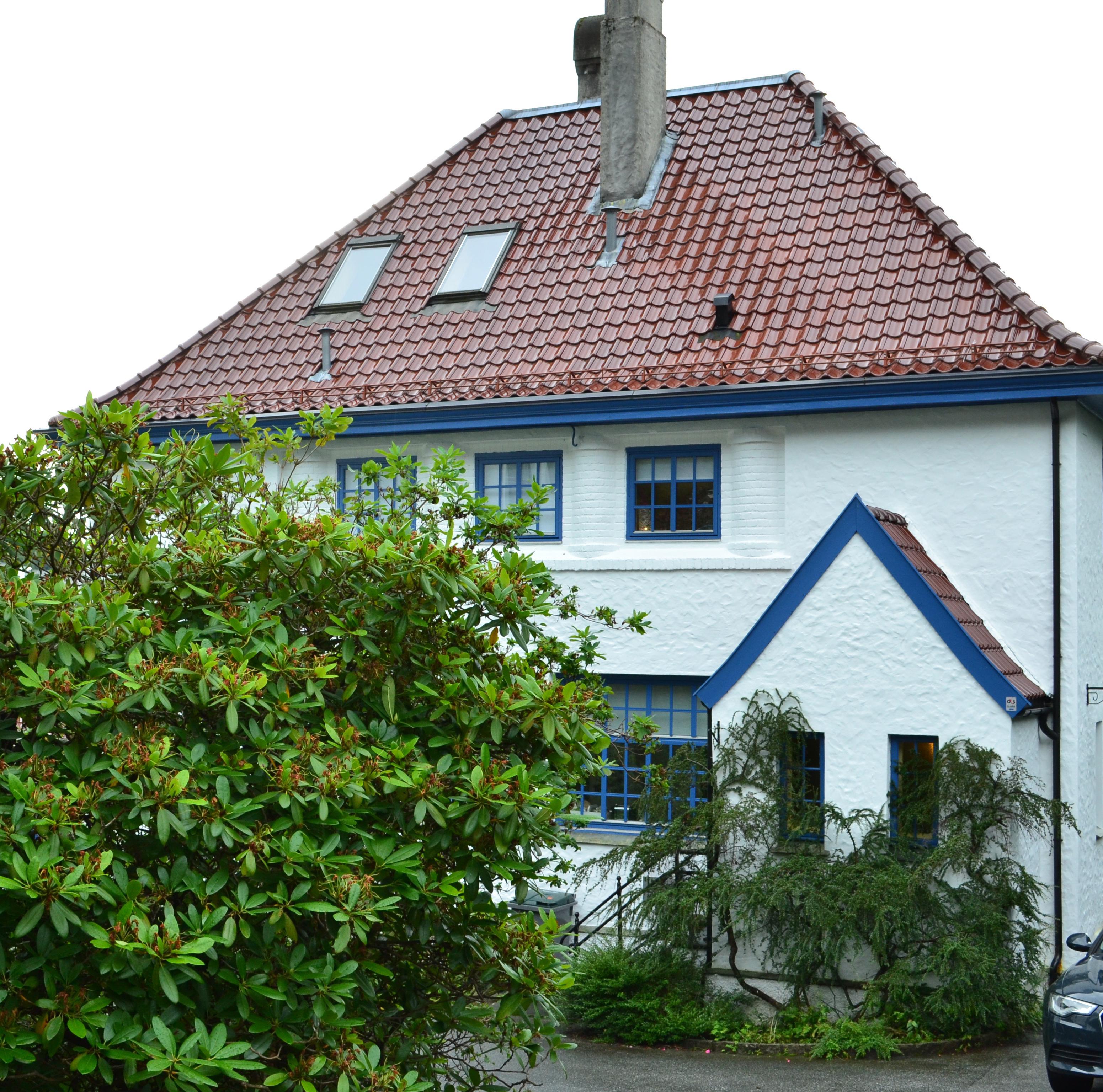 Leif Ove Andsnes house in Bergen