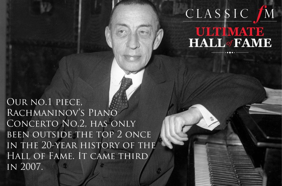 Ultimate Hall of Fame infographic Rachmaninov