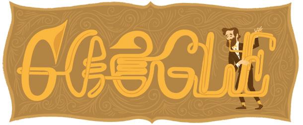 Adolphe Sax Google Doodle