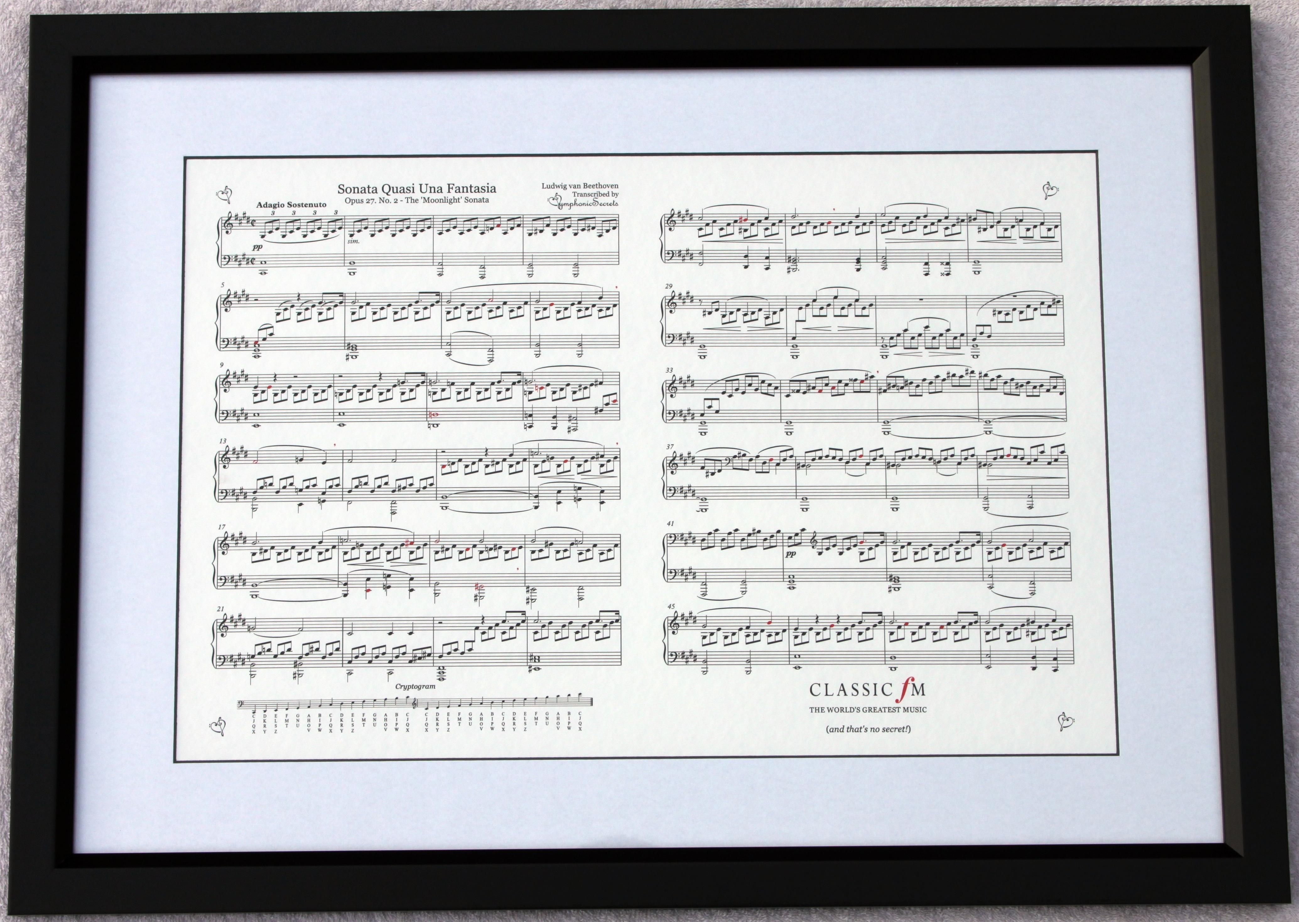 Beethoven Moonlight Symphonic Secrets