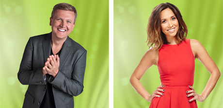 Myleene Klass and Aled Jones