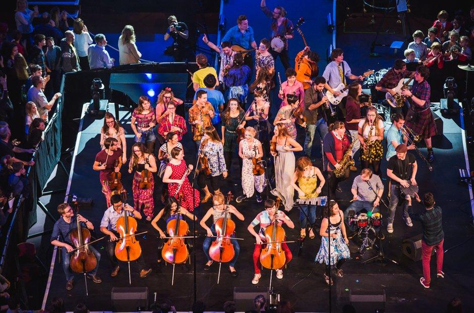 Birmingham Conservatoire Folk Ensemble