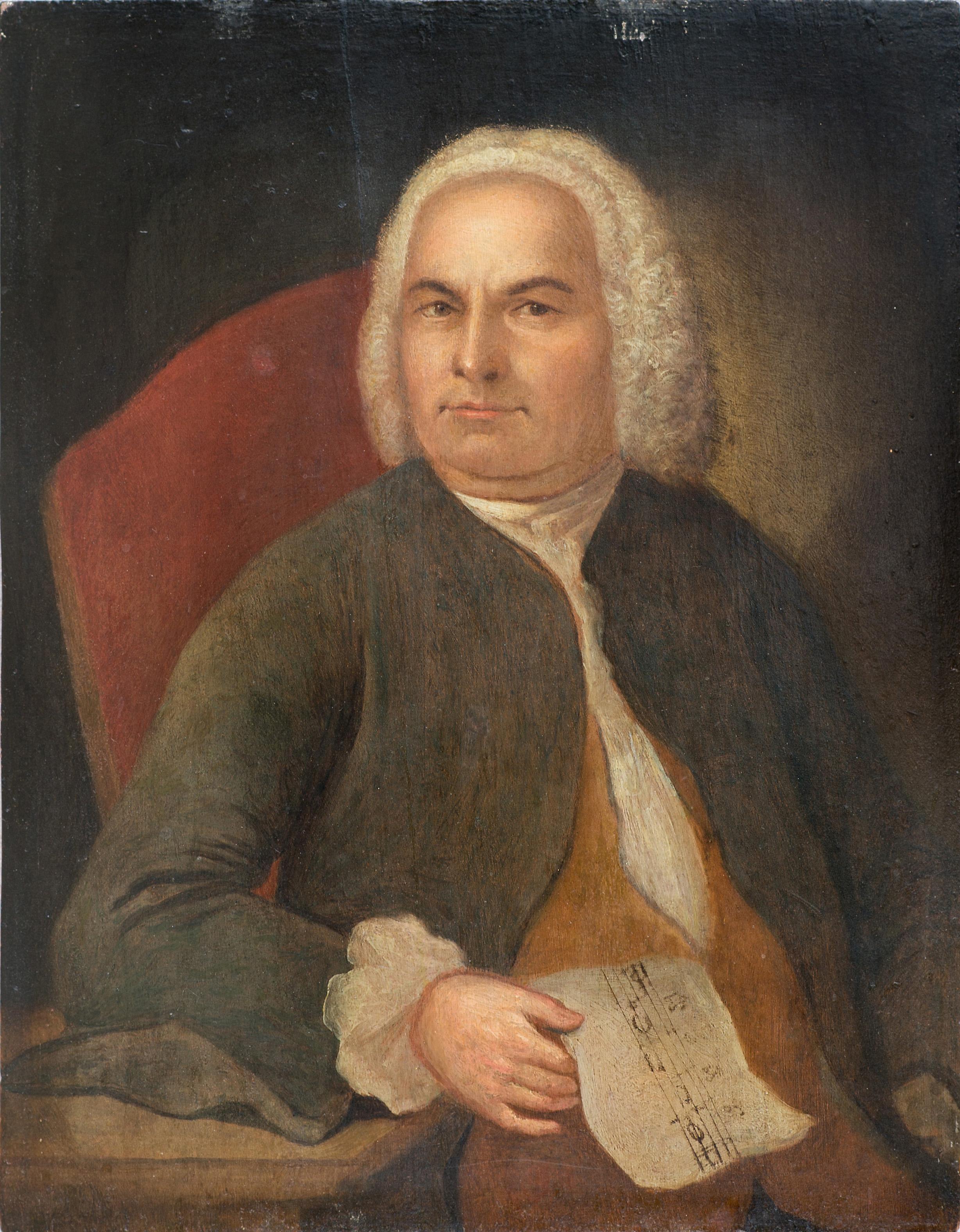 Johann Emanuel Göbel Bach portrait