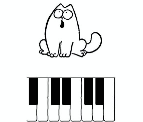 Simon's Cat Piano app