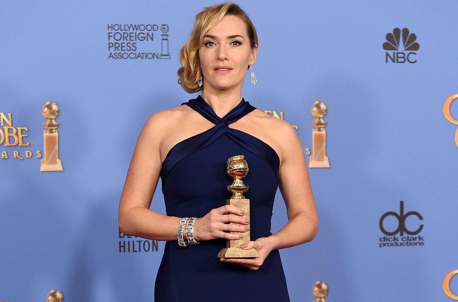 Kate Winslet Golden Globe 2016