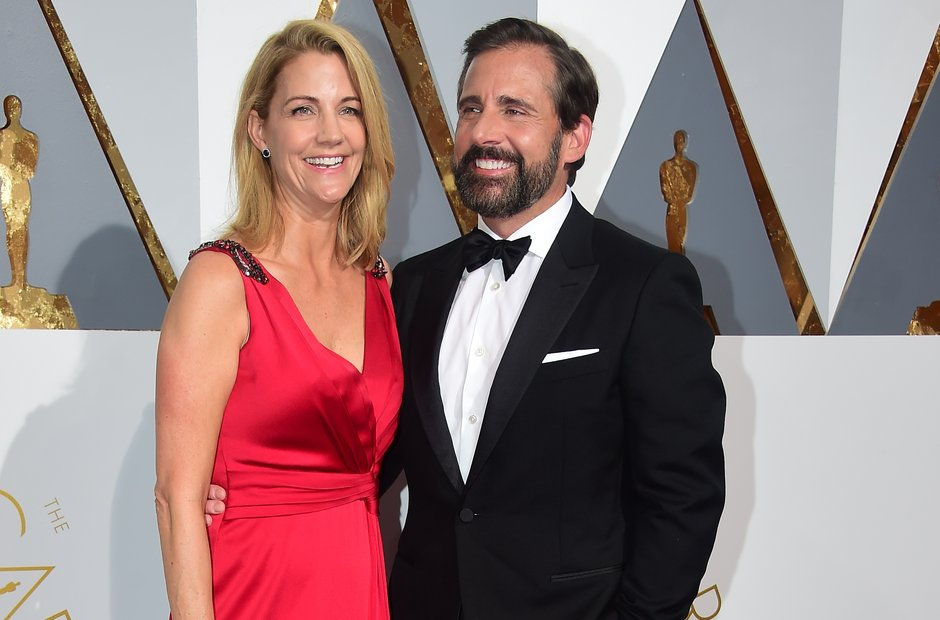 Steve Carell and Nancy Carell