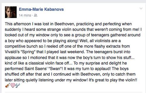 Practice Room story Facebook