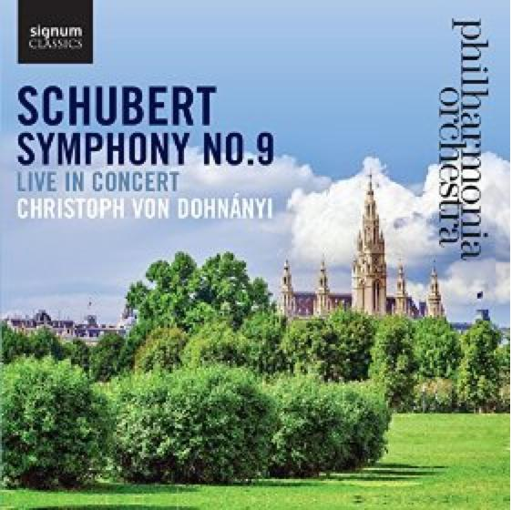 Schubert 9 Symphony Dohnanyi Philharmonia