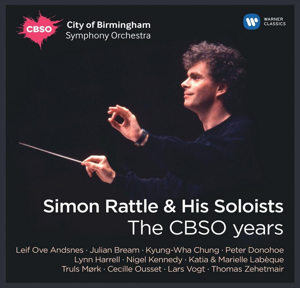 Simon Rattle and his soloists CBSO