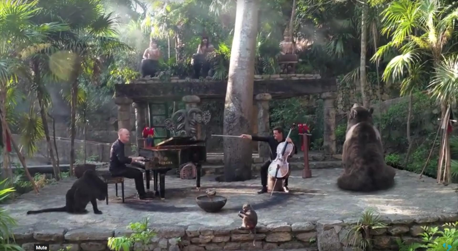 The Piano Guys Jungle Book Maya video Chichén Itzá