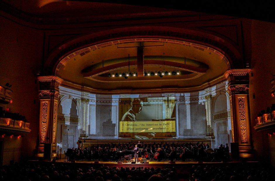 Carnegie Hall 125 birthday gala Gerhswin