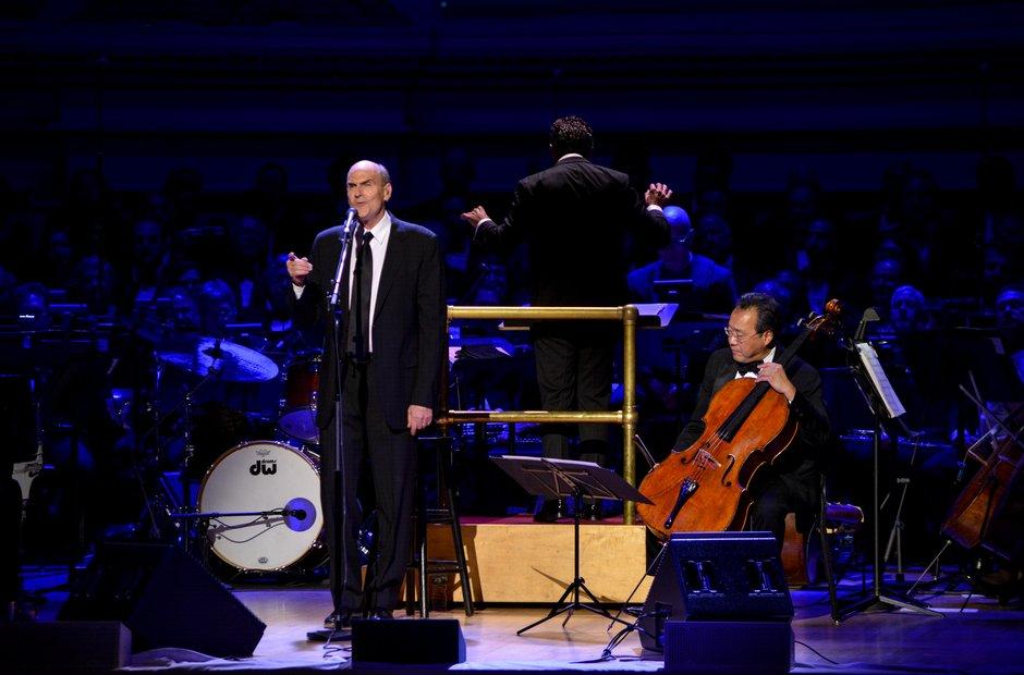 Carnegie Hall 125 birthday gala Yo-Yo Ma James Taylor