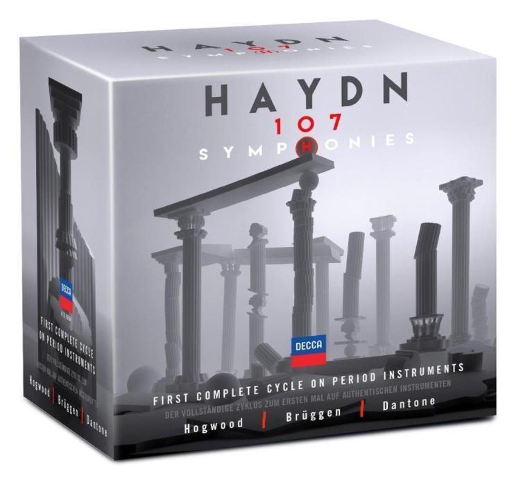 Haydn 107 symphonies