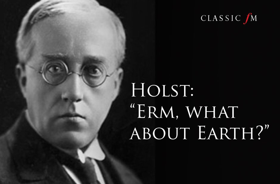Great composers advice Holst