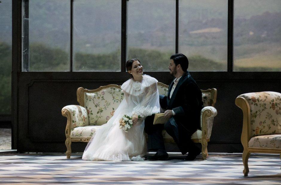 La Traviata premiere Rome Dotto Poli
