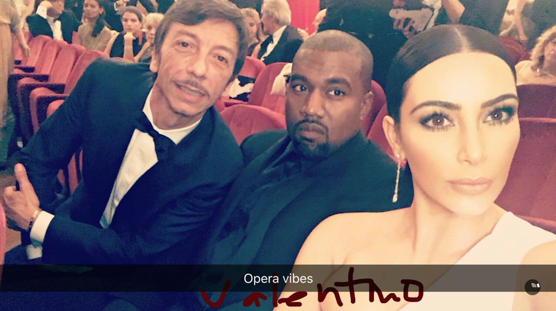 Traviata Rome Kardashian Kanye