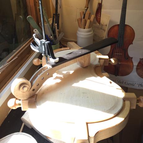 Make a violin final