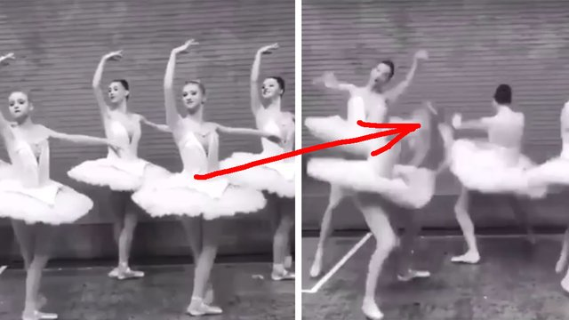 Everyone is obsessed with this video of ballet dancers