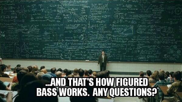 Figured bass meme