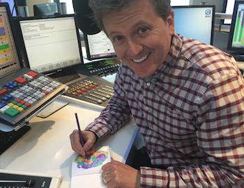 Aled Jones colouring