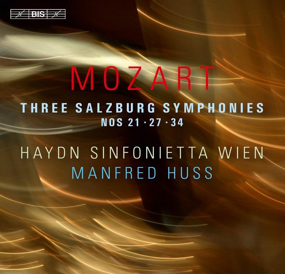 Mozart Three Salzburg Symphonies