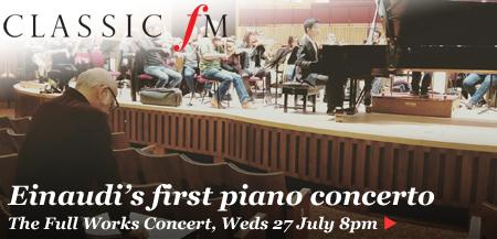 Einaudi piano concerto listen live