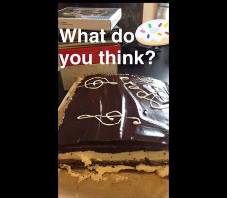 Opera cake snapchats