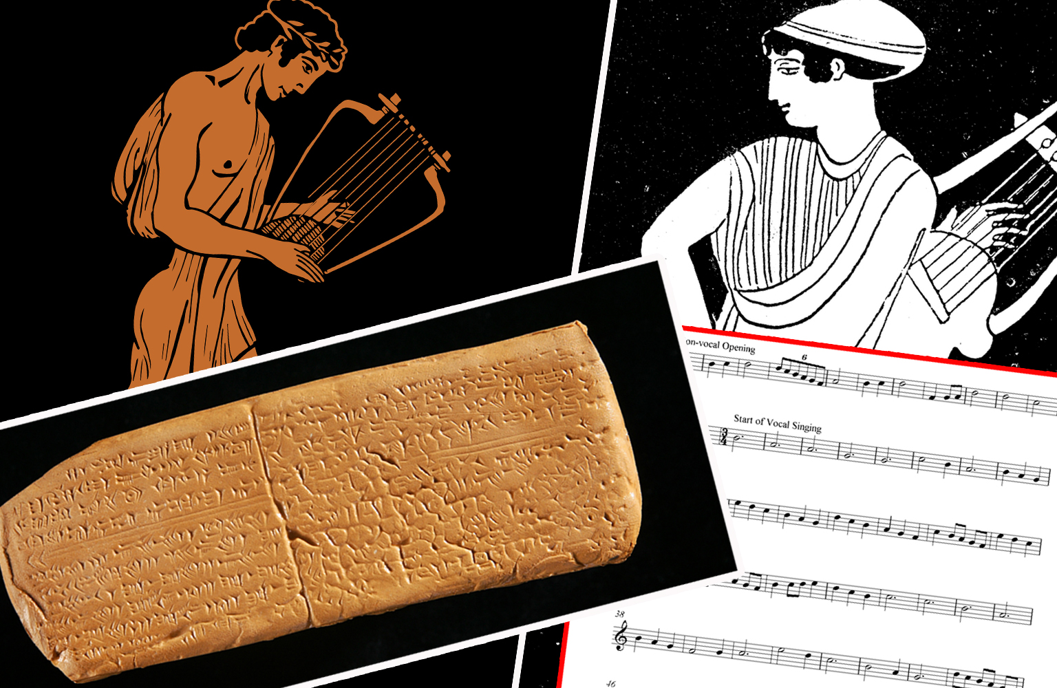 Oldest song melody. Hurrian hymn