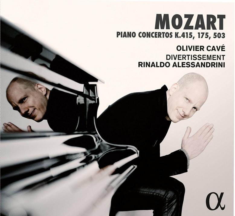 Olivier Cave Mozart Piano Concertos