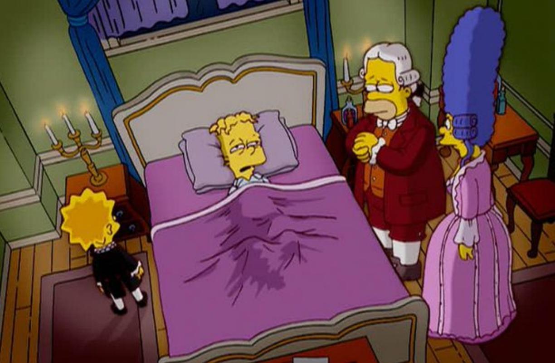Simpsons Mozart Salieri