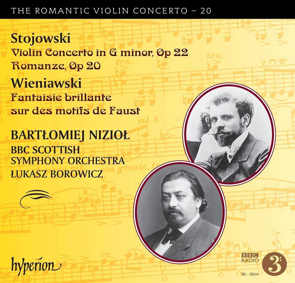 Zygmunt Stojowski Violin Concertos