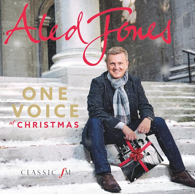 Aled Jones One Voice at Christmas Cover