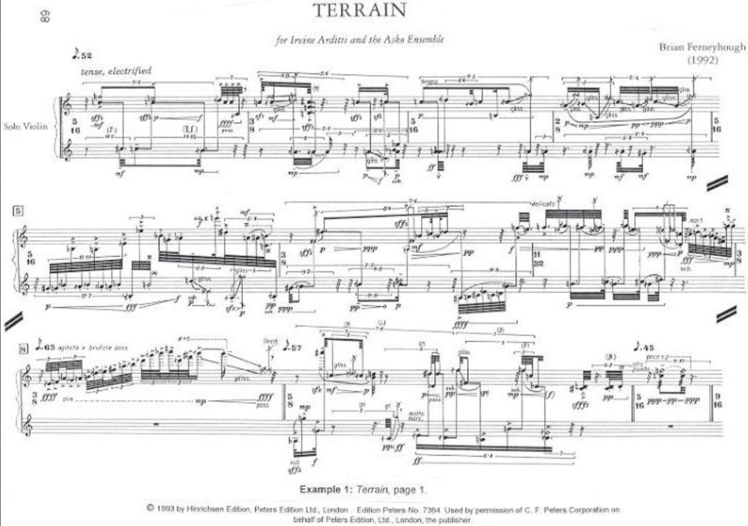 ferneyhough score