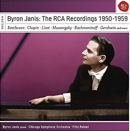 Byron Janis RCA Recordings