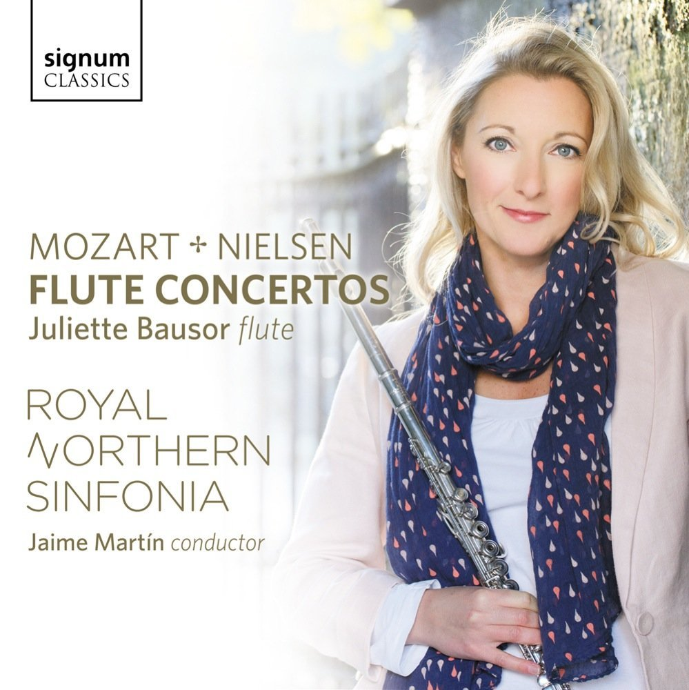 Juliette Bausor Mozart and Nielsen Flute Concertos