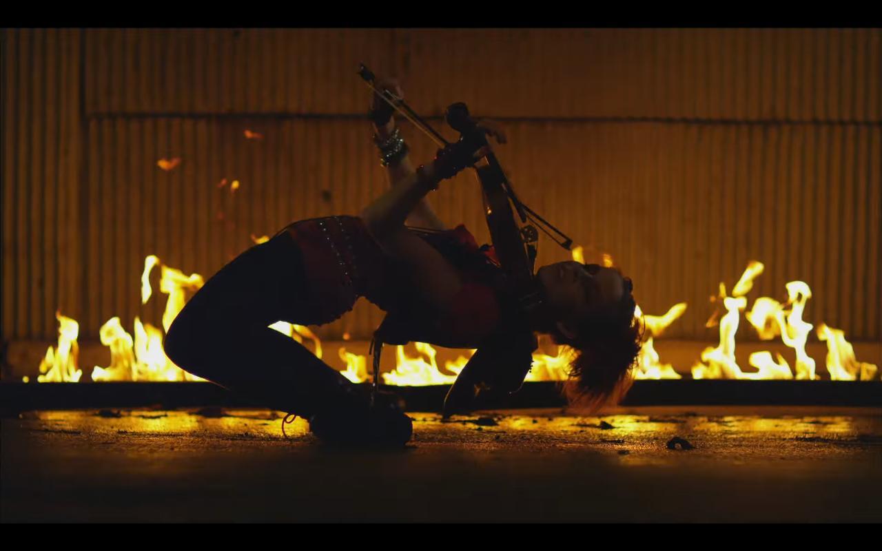 violin fire