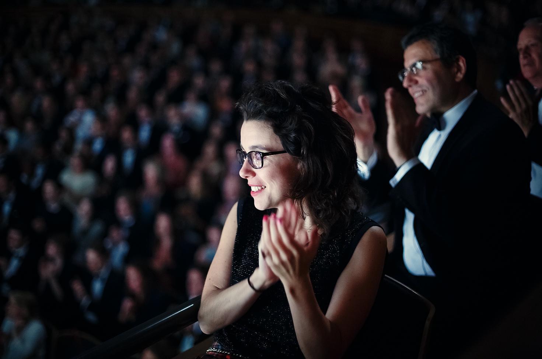 Glyndebourne auditorium audience