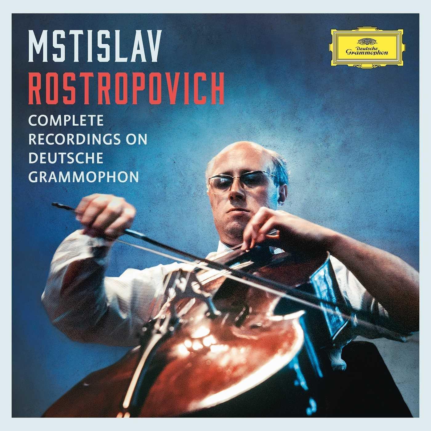 Mstislav Rostropovich Complete Recordings Deutsche