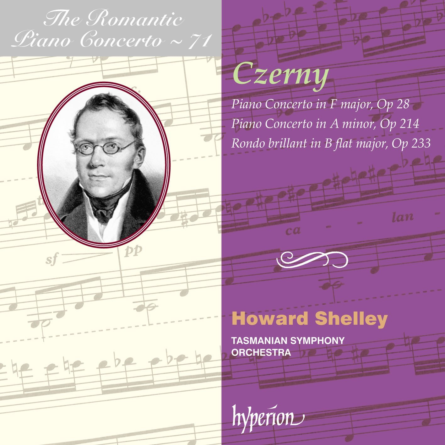 Czerny: The Romantic Piano Concerto - Tasmanian Sy