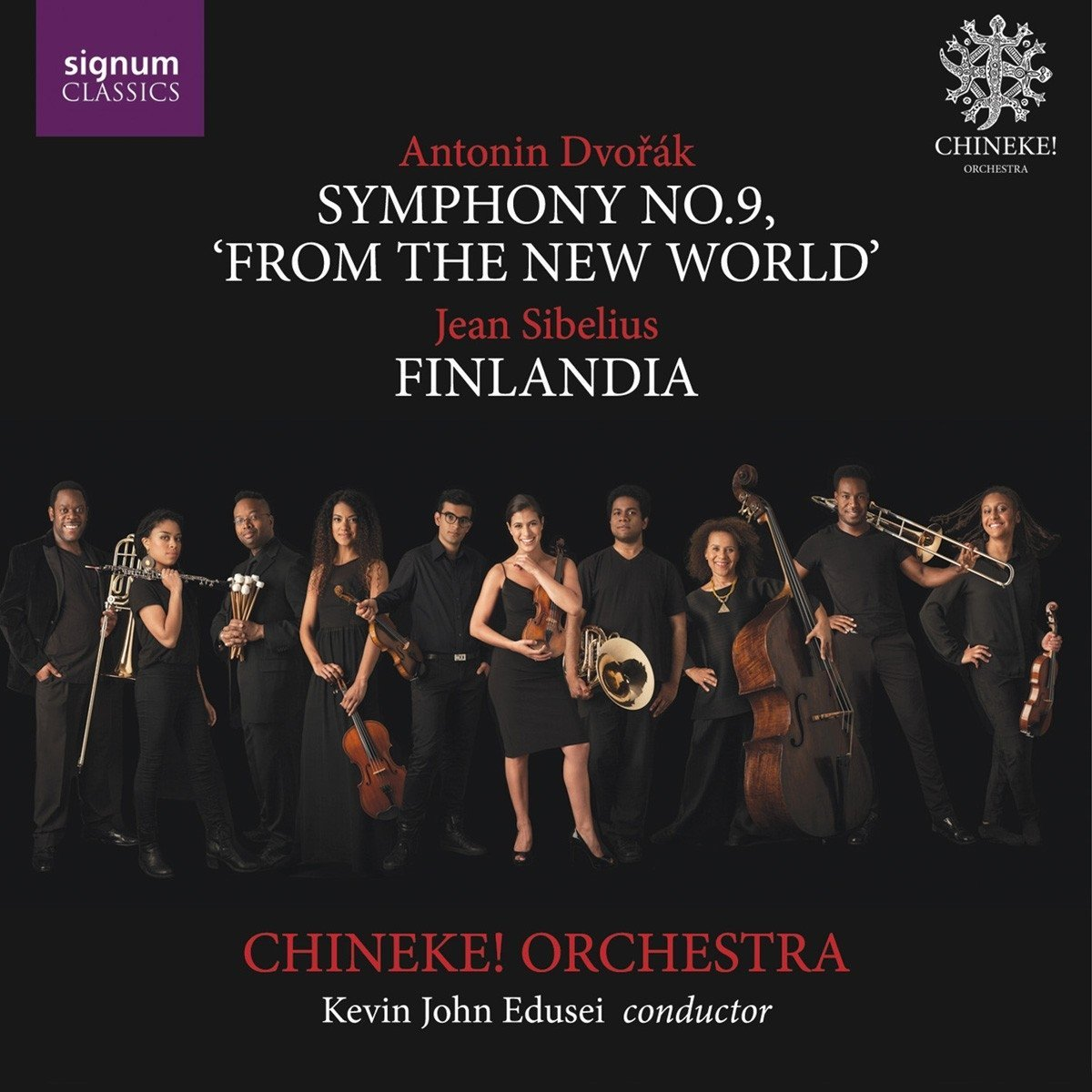 Dvorak: Symphony No.9 'From the New World'; Sibeli
