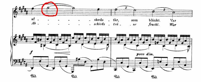 Sibelius var det en drom top note