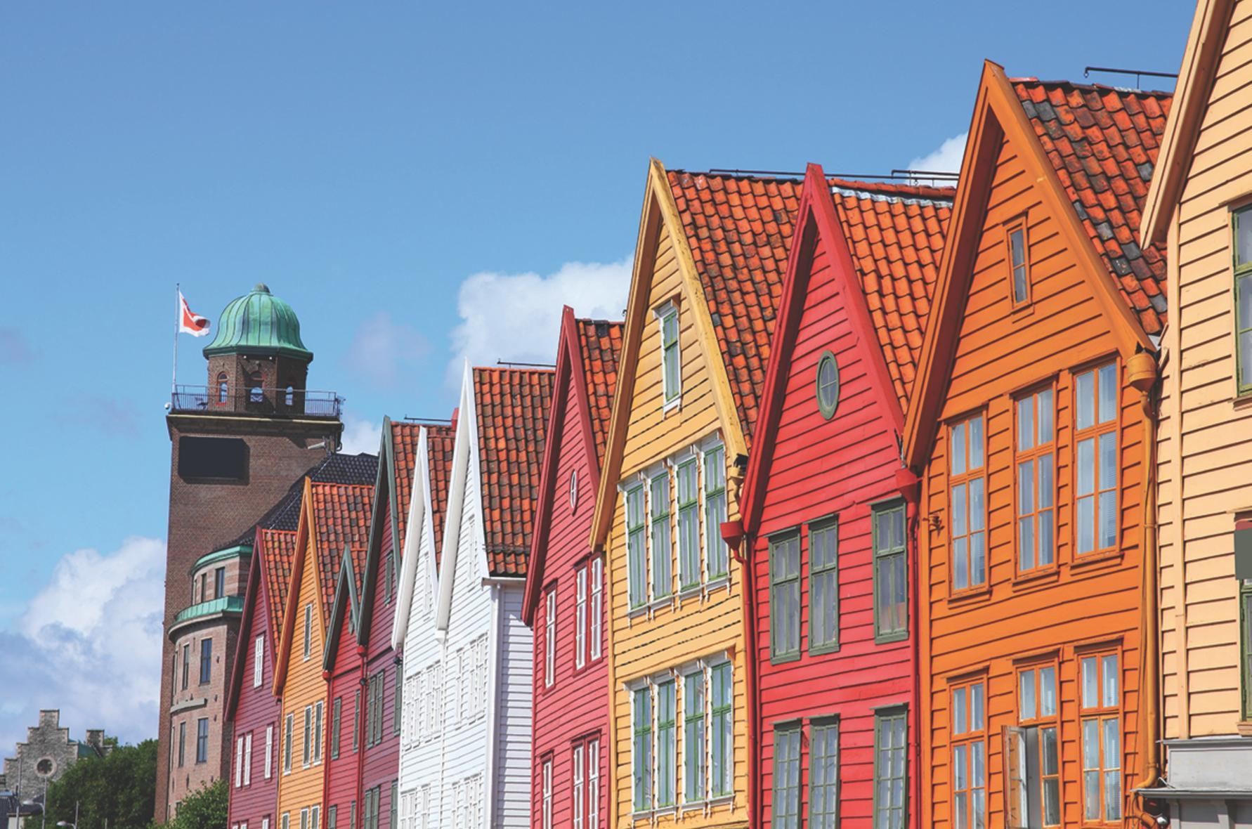viking cruises norwegian houses