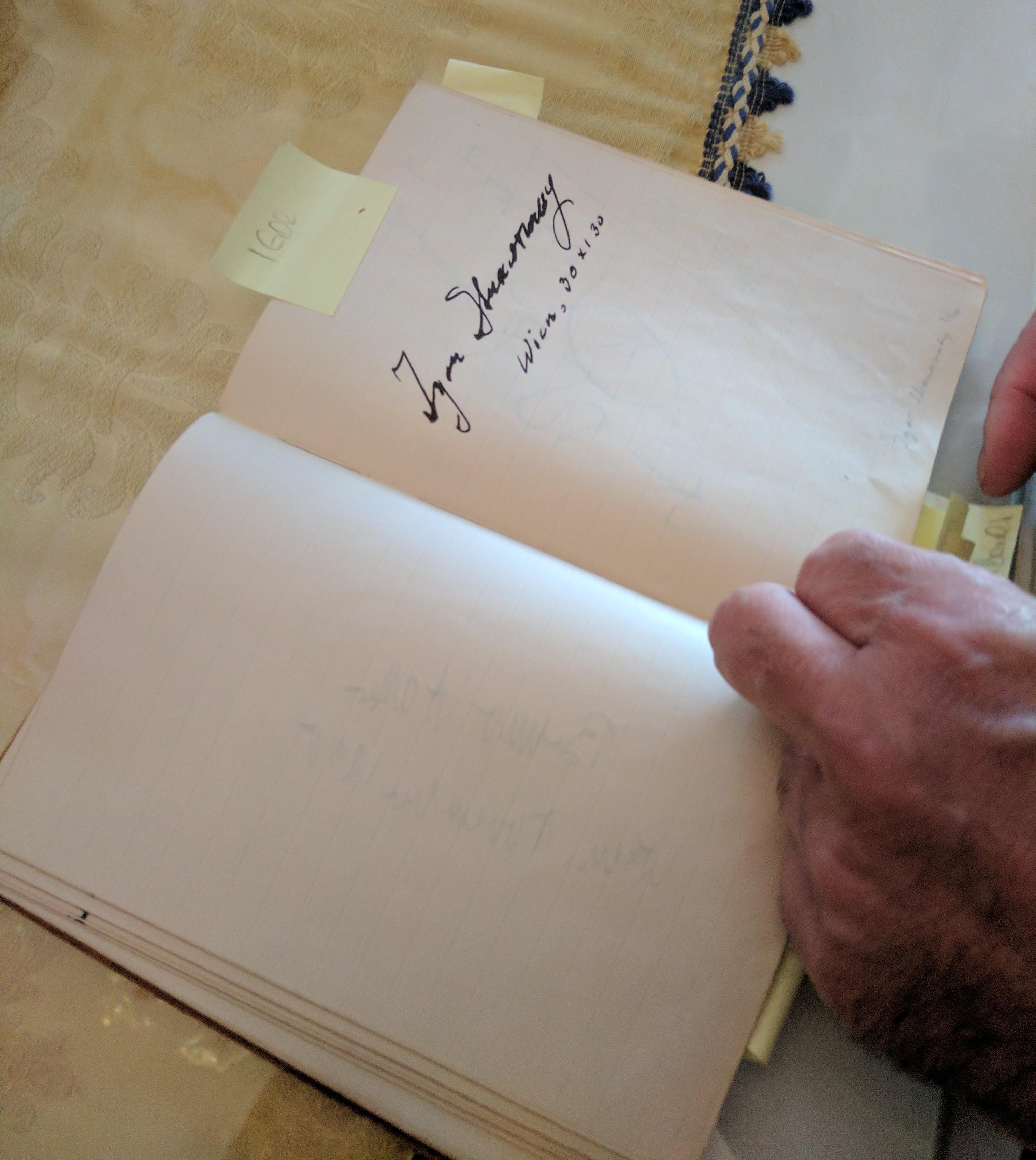 Stravinsky signature
