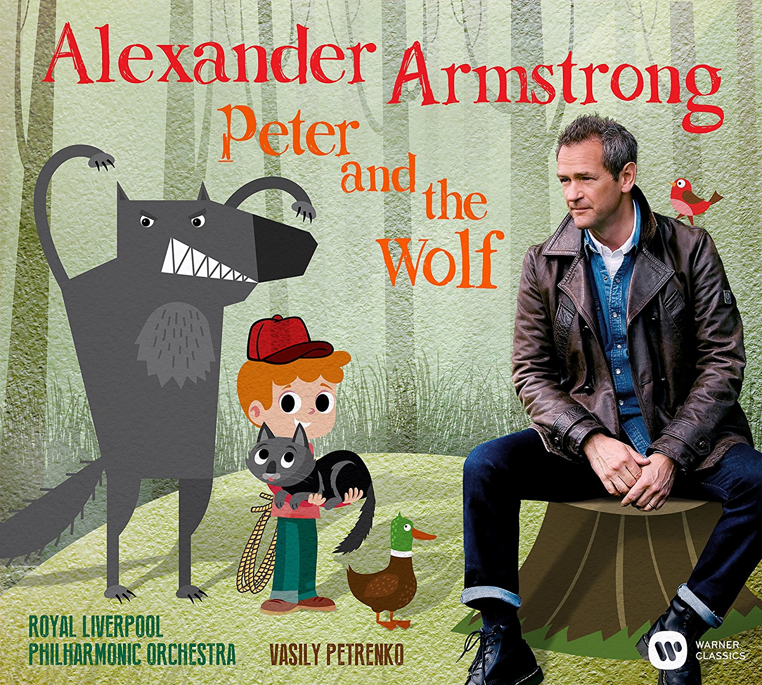 Alexander Armstrong Peter and the Wolf
