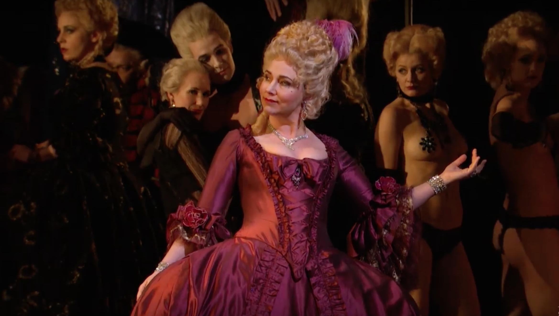 Metropolitan opera nipple pasties
