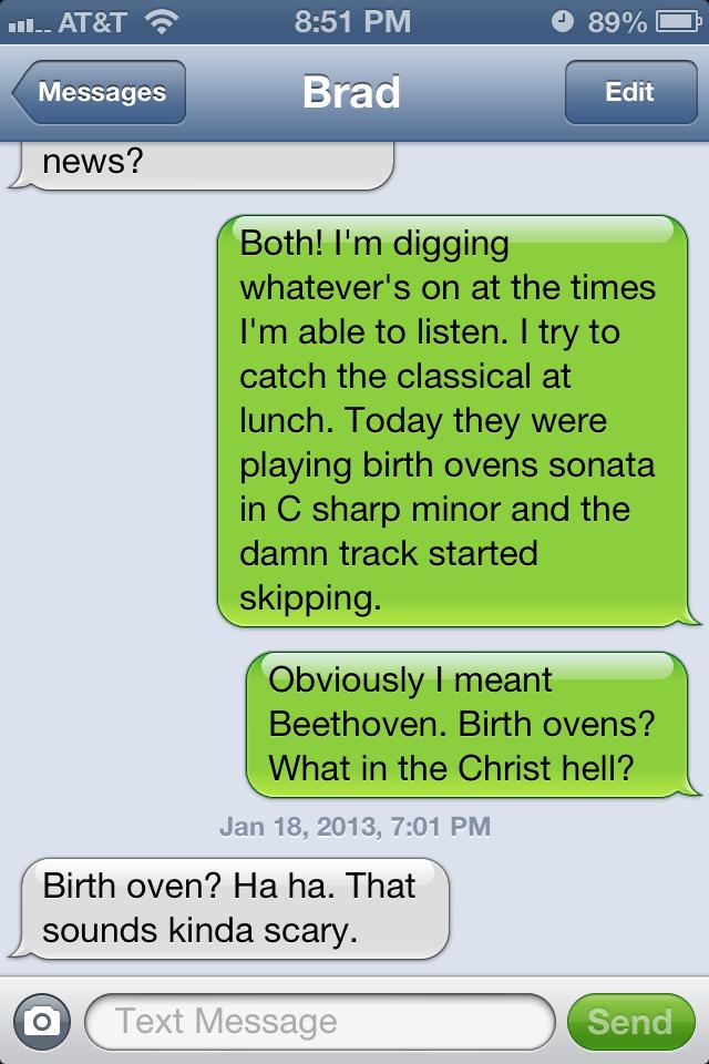 Beethoven autocorrect